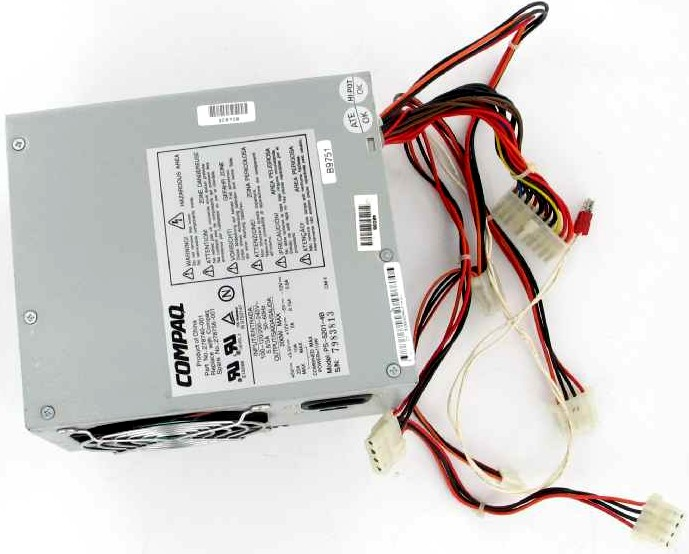 COMPAQ MODEL HP 212 REV:B POWER SUPPLY-INPUT:100-120/200V AC,5.5A/3A,50-60Hz - REFURBISHED