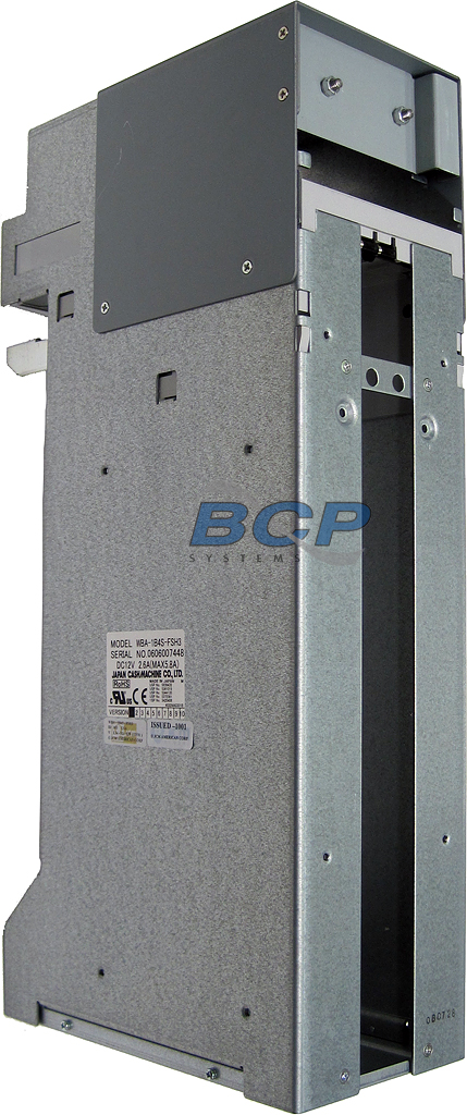 CHASSIS CARRIER FOR WBA-1B4S-FSH3 BILL ACCEPTOR AND 2000-NOTE CASH CASSETTE - NEW