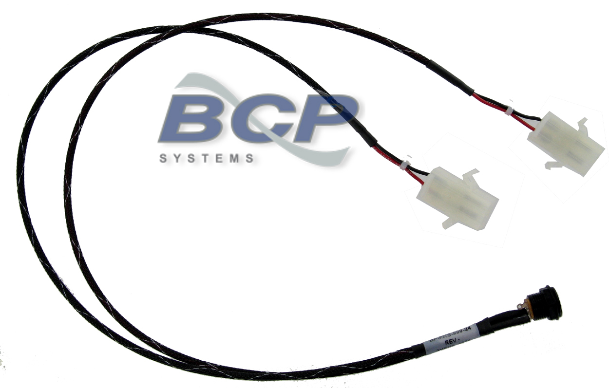 CABLE ASSY FIREKING CASHCODE POWER 12VDC (CASHCODE/JCM COMPATIBLE CONNECTOR FOR CUP70-12 POWER SUPPLY (15009111 BP-FKS-990-24) (EA)