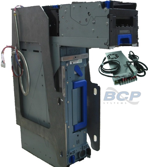 CONVERSION KIT FIREKING NKL AUTOBANK V1 SINGLE JCM BNF TO TBV. INCLUDES TBV BILL ACCEPTOR, 2000-NOTES CASH CASSETTE, BRACKETS, CABLES AND POWER SUPPLY
