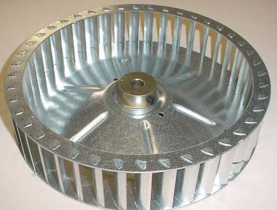 BLOWER WHEEL FOR CIRCULATING MOTOR FAN, DELUXE OVEN