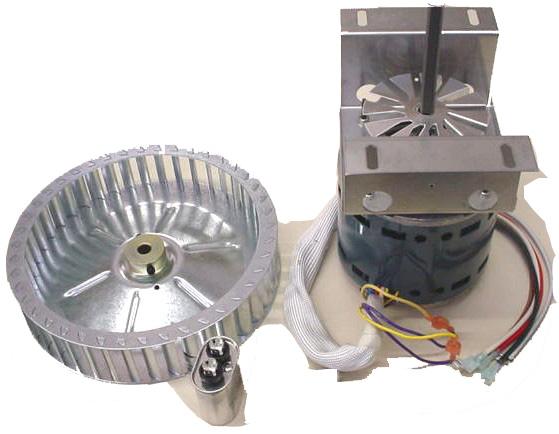 MOTOR ASSY KIT DELUXE OVEN (CONSISTS OF MOTOR, CAPACITOR AND BLOWER WHEEL)