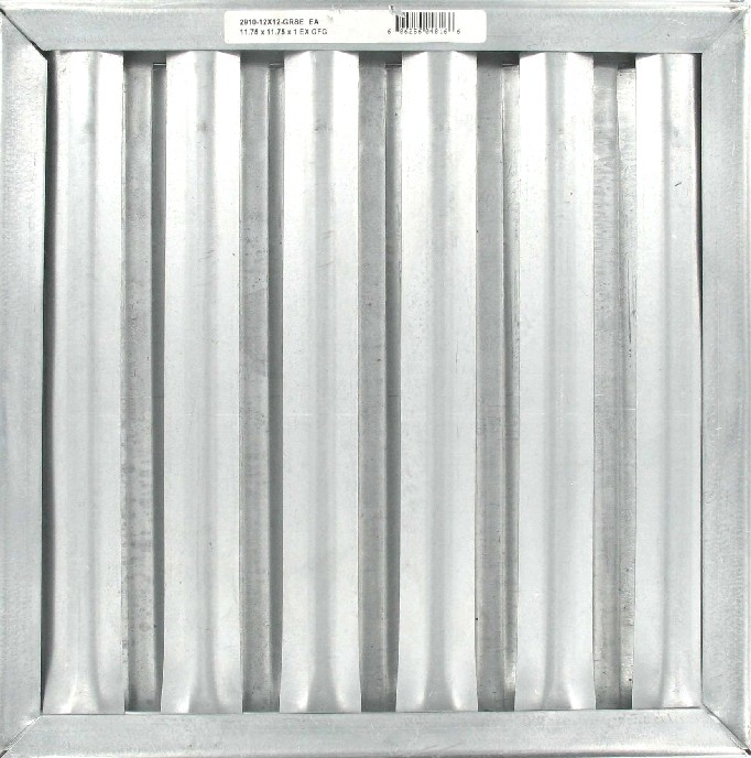 "FILTER 11.75""x11.75"" GREASE SCREEN (For Oven Exhaust Hood Fan)"