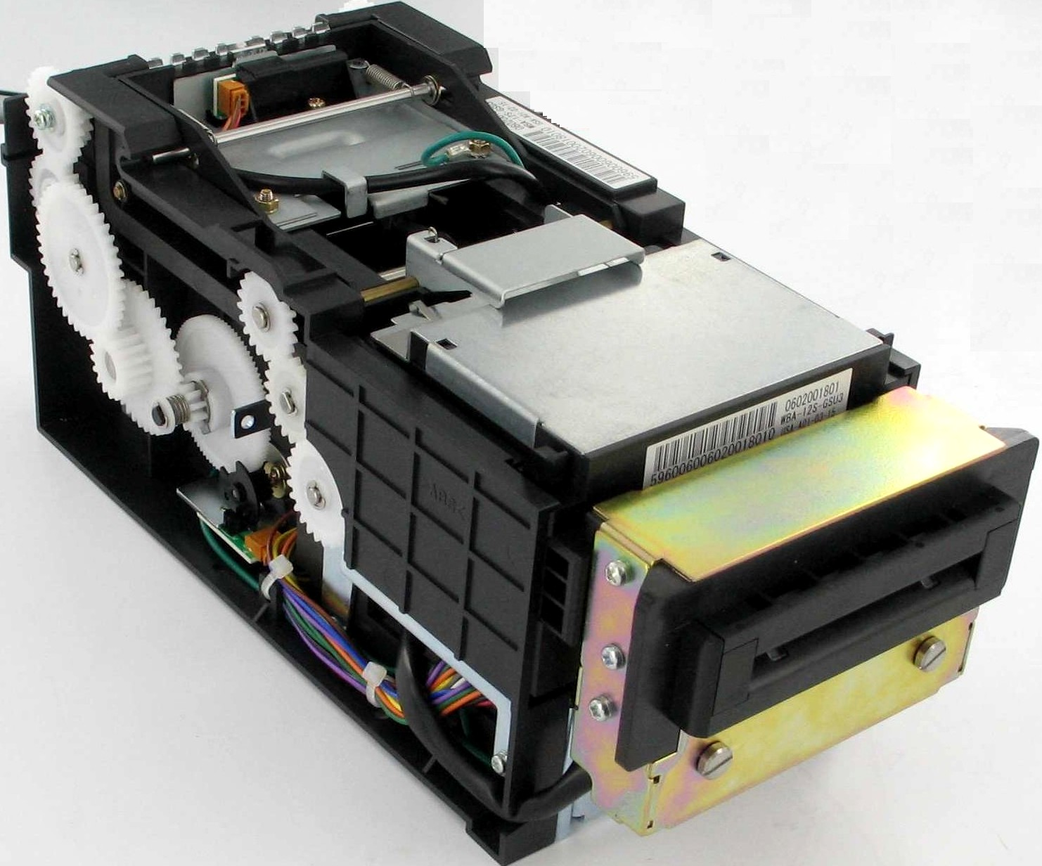 BILL ACCEPTOR FOR H2 PIC JCM WBA-12S-GSU3 - REFURBISHED (REPAIR PRICE REQUIRES THE RETURN OF DEFECTIVE CORE)