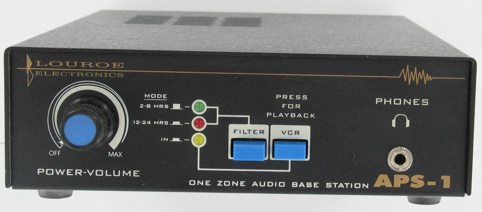 AUDIO BASE STATION LOUROE APS-1 ONE ZONE WITH POWER SUPPLY - REFURBISHED