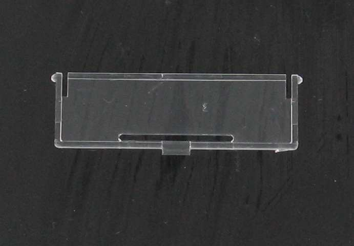 CLEAR PLASTIC COVER FOR A CASHCODE FLV UNIT.