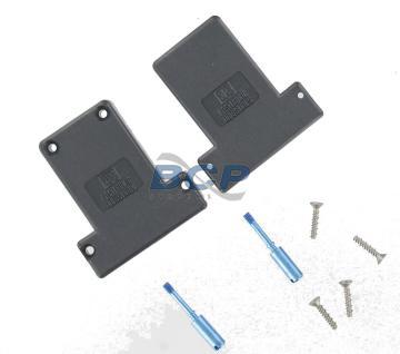 hood dsub with rotating male jackscrews (z) composite