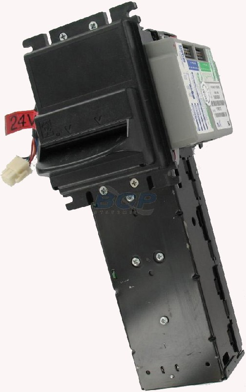 BILL ACCEPTOR RS3942DR 24V LRC LONG LIGHTED BEZEL, DOWN-STACKER, RIGHT-SIDE CONTROLLER